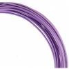 Aluminum Wire 12ga (2.5mm) 30ft Round Lilac